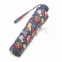 CathKidston l768-6f3233 Owls And Flowers Navy 折りたたみ傘