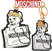 Limited★限定 Moschino PUDGY レザーキーリング【関税込】