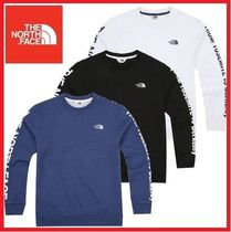 THE NORTH FACE★LETTERING SWEATSHIRTS トレーナー★3色/追跡付