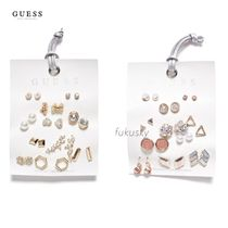 GUESS★US限定★新作/送料込★ストーンスタッズピアスセット