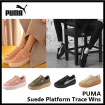 PUMA(プーマ) スニーカー 【PUMA プーマ】Suede Platform Trace Wns 4色