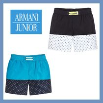 大人もOK★Armani Junior★Navy Blue&Blue スイムショーツ 4-16Y