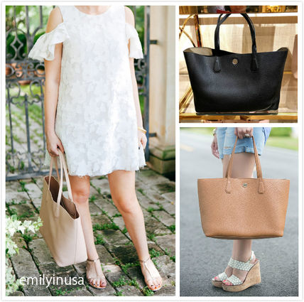 Tory Burch トートバッグ SALE☆TORY BURCH★PERRY TOTE トート A4収納OK*41135