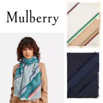 18SS☆送関込【Mulberry】Diagonal フィルクーペスカーフ☆3色