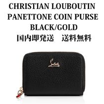 【即発】【国内発送】★ PANETTONE COIN PURSE ★ BLACK/GOLD