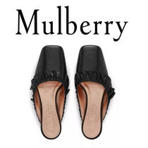 18SS新作☆送関込【Mulberry】Frillyミュール♡ブラック
