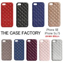 THE CASE FACTORY(ザ ケース ファクトリー) スマホケース・テックアクセサリー 送料無料☆THE CASE FACTORY*iPhoneSE/5s/5スタッズ付ケース*9色