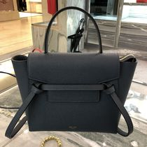 18SS新作NEWサイズ【CELINE】Belt Bag Nano (Slate)