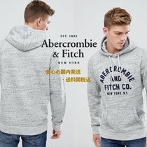Abarcromie&Fitch☆Grey Marlのフロントフロックロゴパーカ♪