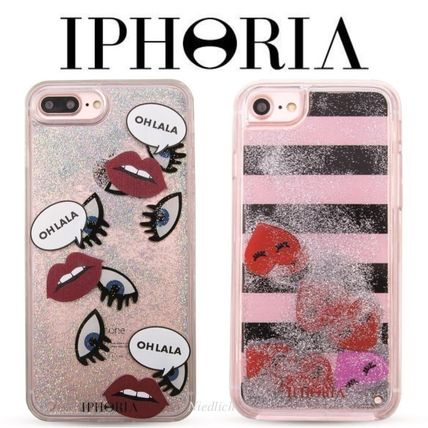 ★IPHORIA★リキッド♪Icons&Hearts*iPhone 7/8ケース*2柄