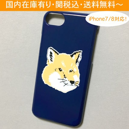 【国内在庫有り】MAISON KITSUNE FOX HEAD iPhone 7/8 Case