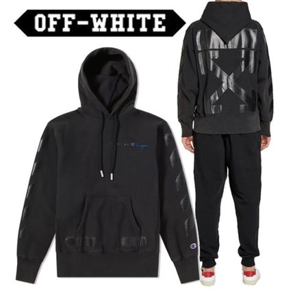 【Off-White】☆SS18☆CHAMPIONコラボ☆ フーディー
