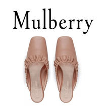 18SS新作☆送関込【Mulberry】Frillyミュール♡ピンク