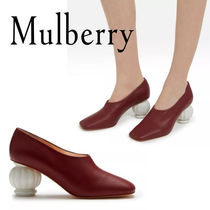 18SS☆送関込【Mulberry】Victoria Pump アンティークパンプス赤