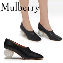 18SS☆送関込【Mulberry】Victoria Pump アンティークパンプス黒