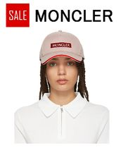 ★SALE★Moncler ピンク ロゴ キャップ