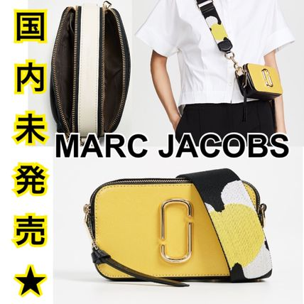 '17-'18AW★新作★MARCJACOBS snapshot クロスボディバッグ 黄色