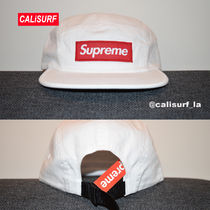 新作★SS18 Supreme Military Camp Cap/WHITE