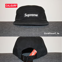 新作★SS18 Supreme Military Camp Cap/BLACK