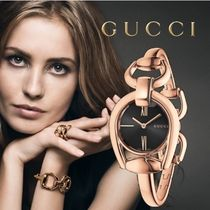 大特価GUCCI(グッチ) Horsebit Rose Gold Ladies Watch YA139507