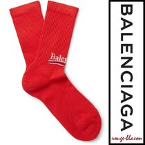 【国内発送】Balenciaga ソックス Intarsia Cotton-Blend Socks