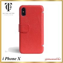 THE CASE FACTORY(ザ ケース ファクトリー) スマホケース・テックアクセサリー 【国内発送】THE CASE FACTORY/iPhoneX/CardCase【関税送料込】