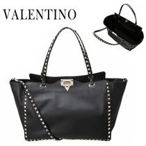 VALENTINO/正規品/EMS送料込み Rock Stud Medium Shoulder bag