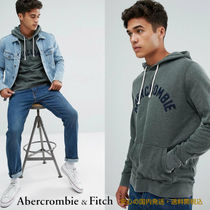 Abarcromie&Fitch☆アーチロゴパーカーグリーン♪