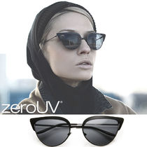 全3色*zeroUV*ELEGANT LASER CUT MODERN CAT EYE FASHION SUN