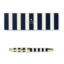 即納kate spade new york ball point pen NAVY STRAIP185450
