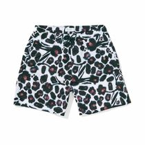 SATURDAYS SURF Water Floral Swim Short Dark Mauve