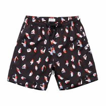 SATURDAYS SURF Timothy Spots Swim Trunks Black