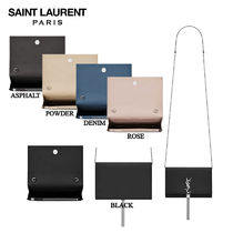 【正規品保証】SAINT LAURENT★18春夏★CHAIN&TASSEL WALLET