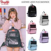 Daylife(デイライフ) バックパック・リュック 【DAYLIFE】LEATHER LAYER PLUS BACKPACK★5色