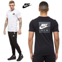 海外限定!!◆Nike◆Air Box Side Logo T-Shirt Tシャツ