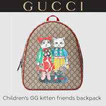 GUCCI(グッチ)【子供服】GG バックパック with kitten フレンズ