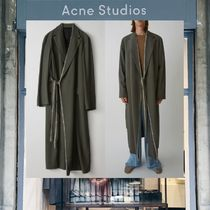 【18SS NEW】 Acne Studios_menFangan fluid mud brown / コート