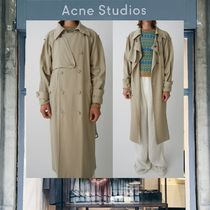 【18SS NEW】 Acne Studios_men/Marvick trench khaki/トレンチ