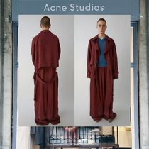 【18SS NEW】 Acne Studios_men/Morres Linen falun redトレンチ