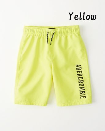 Abercrombie & Fitch 子供用水着・ビーチグッズ 【Abercrombie Kids】logo boardshorts 水着ショートパンツBoys(6)