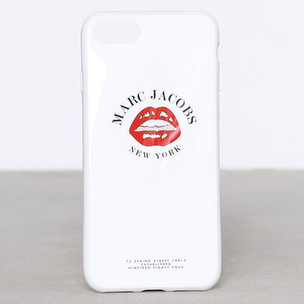 MARC JACOBS マークジェイコブス★リッププリント iPhone7 case