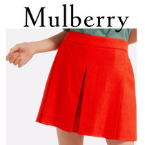 18SS新作☆送関込【Mulberry】Bettyリネンショートパンツ☆Red