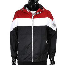 MONCLER GAMME BLEU 18SS striped hooded ウインドブレイカー
