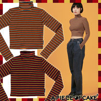 A PIECE OF CAKE(ピースオブケイク) トップスその他 ☆オバールロゴ グロップトップ 2カラー (Oval Logo Crop Top)