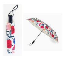 即納Kate spadeNY dahlia travel umbrella折りたたみ傘186047
