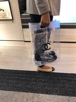 2018CHANEL最新作★RUNWAY BOOTS★PVC BOOTS with CC tote bag