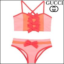 【GUCCI(グッチ)】Girls Pink Bikini with Red Bows