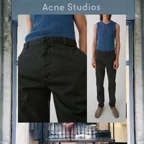 【18SS NEW】 Acne Studios_men / Ishir coal black / パンツ