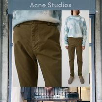 【18SS NEW】 Acne Studios_men / Ishir safari green / パンツ