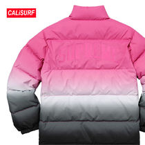 WEEK1★SS18 Supreme Gradient Puffy Jacket/ PINK/ S
